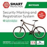 ISR-märkning - Kraftfull stöldskyddsmärkning för Cyklar,