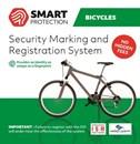 ISR-märkning - Stöldskyddsmärkning för Cyklar, Barnvagnar mm
