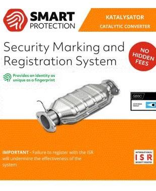 ISR-märkning Katalysator